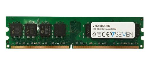 VIDEO SEVEN 2GB DDR2 800MHZ CL6 DIMM PC2-6400 MEM (V764002GBD)