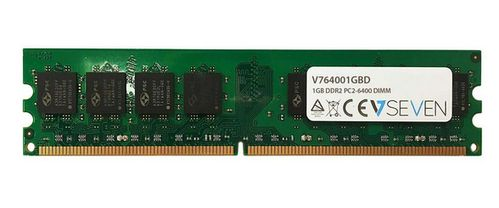 VIDEO SEVEN 1GB DDR2 800MHZ CL6 DIMM PC2-6400 MEM (V764001GBD)