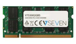 VIDEO SEVEN 2GB DDR2 667MHZ CL5 SO DIMM PC2-5300 MEM