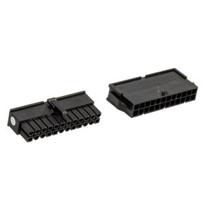 CableMod Connector Pack - 24-Pin ATX Power - schwarz (CM-CON-24ATX-R)
