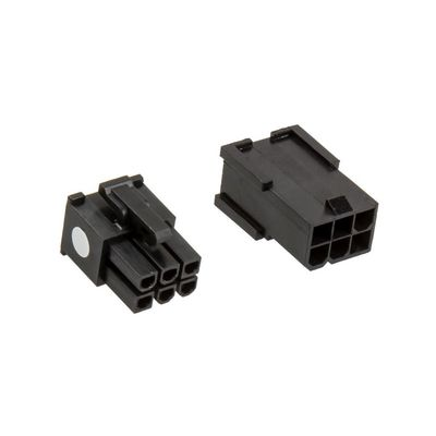 Connector Pack - 6-Pin PCIe-Power - schwarz