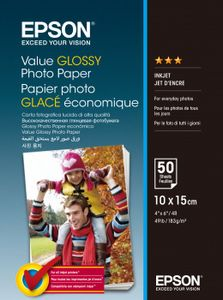 EPSON Paper/ Value Glossy Photo 10x15cm 50sh (C13S400038)