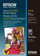 EPSON Paper/ Value Glossy Photo 10x15cm 20sh (C13S400037)