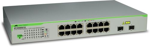 Allied Telesis SMART SWITCH L2 16X 10/ 100/ 1000 (AT-GS950/16-50)