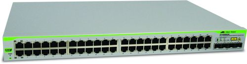 Allied Telesis 48 port 10/ 100/ 1000TX WebSmart switch with 4 x 100/1000 SFP bays (AT-GS950/48-50)