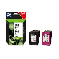 INK CARTRIDGE 302 COMBO PACK .