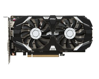MSI GeForce GTX 1050 Ti 4GT OC (GEFORCE GTX 1050 TI 4GT OC)