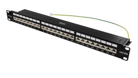 24Port CAT6.A Patch Panel