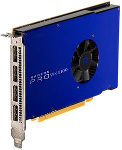 AMD RADEON PRO WX 5100 8GB PCIE 3.0 16X 4X DP RETAIL        IN CTLR (100-505940)