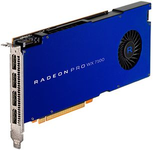 AMD RADEON PRO WX 7100 8GB PCIE 3.0 16X 4X DP RETAIL        IN CTLR (100-505826)