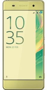 SONY Xperia XA, Lime Gold Android, F3111 (1302-2209)
