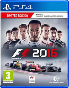 CODEMASTERS F1 2016 Playstation 4 / PS4 (4020628828011)