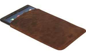 iPad Mini Leather Pouch, Brown