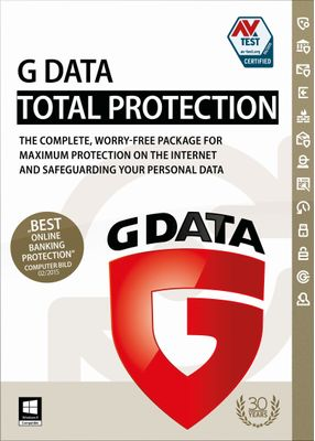 G Data Total Protection 1 Lizenz 3J ESD