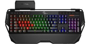 Keyboard USB GSkill Game KM780 RGB MXbr black, Cherry MX brown