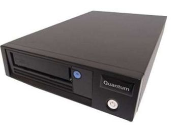 QUANTUM LTO-6 HH TT MEDIA+SAS HBABUNDLE 6GB/S SAS, BLACK INT (TC-L62BN-EM-C)
