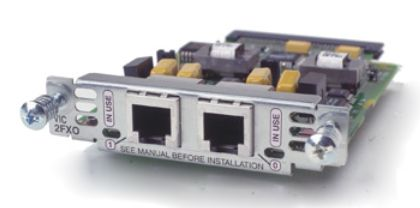 CISCO Two-port Voice Interface Card - FXO (Universal) Retail (VIC2-2FXO)