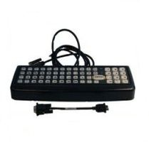 LXE VX9, 60 key rugged keyboard, QWERTY with TX700 adapter cable