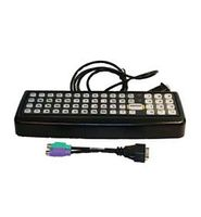 LXE VX8, 60 key rugged keyboard, QWERTY with TX800 adapter cable