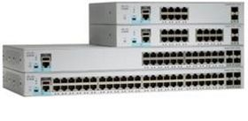 CISCO Switch/ Cat 2960-L 24GigE 4x1G SFP (WS-C2960L-24TS-LL)