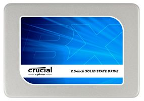 "Crucial® BX200 240GB 2.5"" SSD 7mm w/ adapter,  540/ 490Mb/ s read/ write,  16n TLC NAND"