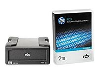 Hewlett Packard Enterprise RDX+ 2TB External Disk Backup System (E7X53B)