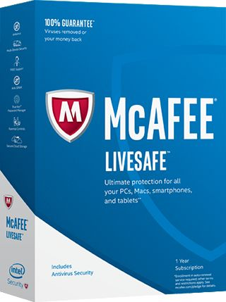 MCAFEE 2017 LIVESAFE UNLIMITED DEVICES MINI-BOX       IN PKC