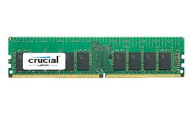 Crucial 16GB 2400MHz DDR4 C17 SR x4 ECC Registered DIMM 288pin