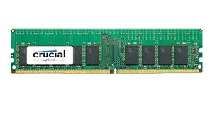 CRUCIAL 16GB DDR4 2400 MT/S (PC4-2400) CL17 DRX8 REGISTERED DIMM 288PIN (CT16G4RFD824A)
