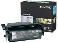 TONER CARTRIDGE PREBATE BLACK F/ OPTRA T62X NS