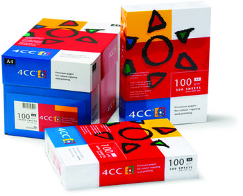 4CC Kopipapir 4CC Colour Copy A4 100g Pk/500 (1235032)