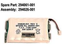BATTERY PACK, 6-CELL, NIMH