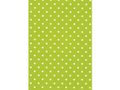 Presentpapper 57cmx154m Dots lime / CE SWEDEN BRANDS (859930)