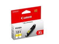 CANON CLI-551XL Y YELLOW XL INK CARTRIDGE SUPL (6446B001)