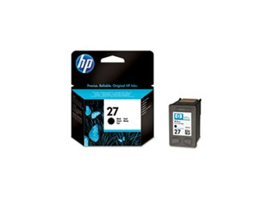 HP 27 sort Original Ink-blækpatron (C8727AE)