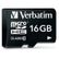 VERBATIM Micro SDHC Card 16GB Class 10 with Adaptor