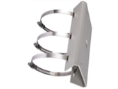 MicroView Vertical Pole Mount, White.