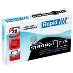 RAPID Hæfteklamme 21/6 SuperStrong 1000 stk