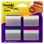 POST-IT Index Post-it 686A1 Strong M/bukkekant. 4 farver