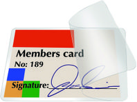 Koldlaminering Q-Connect 54x86mm Pk/10
