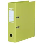 ELBA Brevordner A4 80mm Lime Strongline (100400546)