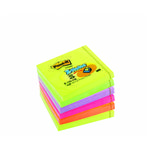 POST-IT Z-Notes R330-NR Regnbuepakning 76x76mm pk/6
