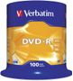VERBATIM DVD-R 16x 4,7GB spindle (100)