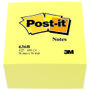 POST-IT Kubus 636B Gul 76x76mm
