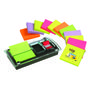 POST-IT Dispenser Post-it DS100VP Millenium inkl. 12 x Z-notes samt index