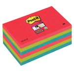 POST-IT Notes Super Sticky 655 Bora Bora 76 x 127mm Pk/6