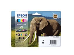 EPSON Ink Cart/24s Elephant Multi 6clrs RS (C13T24284010)