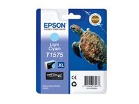 EPSON T157 Light Cyan Cartridge - Retail Pack Stylus Photo R3000 (C13T15754010)