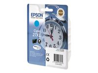 EPSON Ink/27XL Alarm Clock 10.4ml CY (C13T27124012)