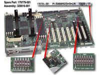 HP BOARD, PROC, W/ TRAY (179779-001)